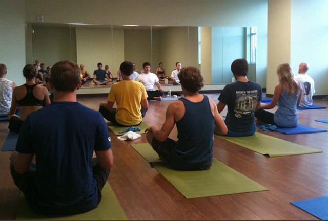 Yoga at Stone Summit