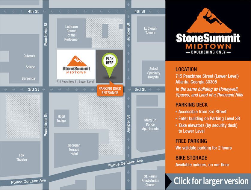Stone Summit Midtown - map