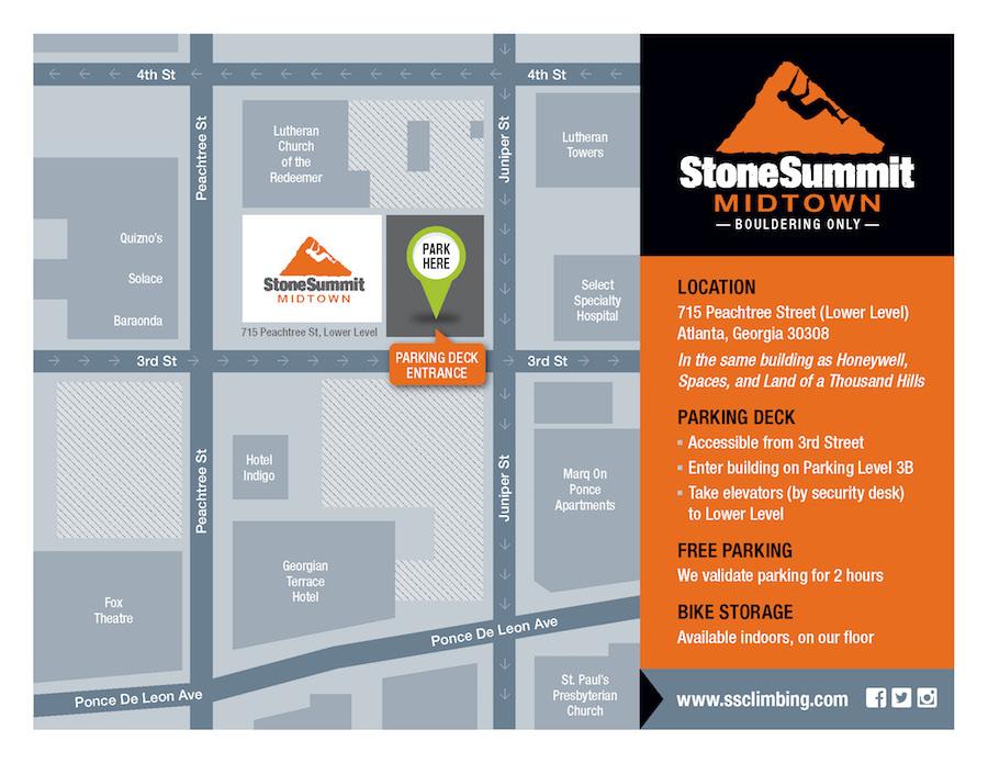 Stone Summit Midtown - map