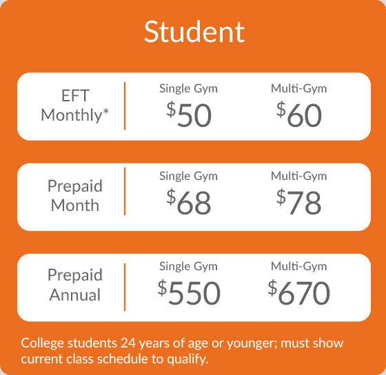 Student Rates